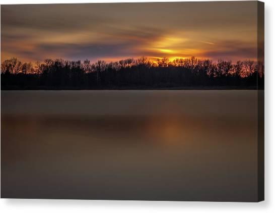 Sunset Over Little Sugarloaf II Canvas Print