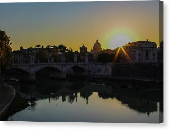 Sunset Over St Peters Canvas Print