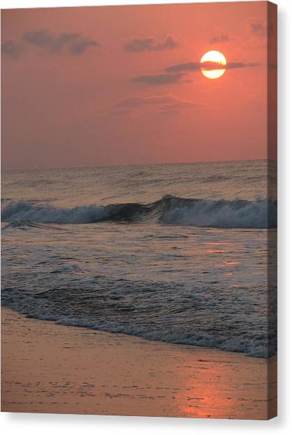 Canvas Print - Sunset Over The Isle by Ginger Howland