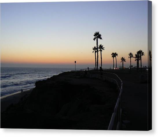 Sunset Pch 2006 Canvas Print by Ron Hayes