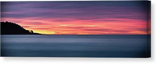 Sunset Penisular, Bunker Bay Canvas Print
