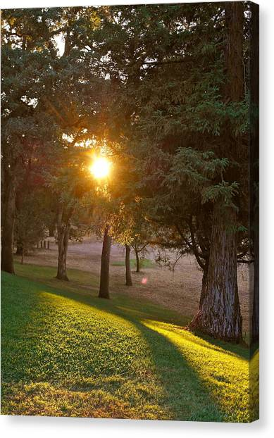 Sunset Retreat Canvas Print