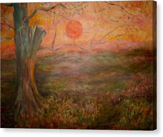 Sunset Rev. Canvas Print by Joseph Sandora Jr