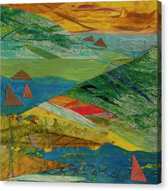 Sunset Sails 3 Canvas Print