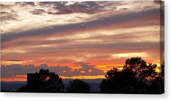 Sunset Santa Fe Canvas Print by James Granberry