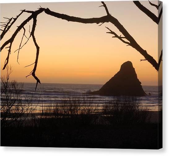 Sunset  Canvas Print by Scott Gould