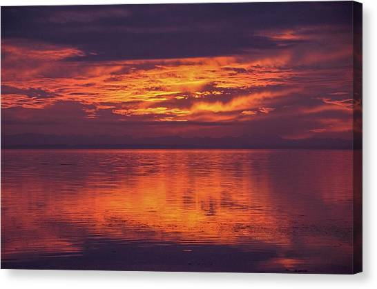 Sunset Sequim Canvas Print
