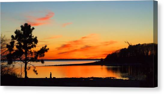 Sunset Serenity Canvas Print