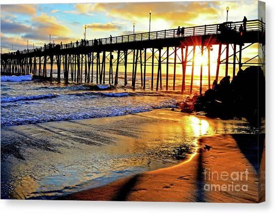 Sunset Shimmer Canvas Print