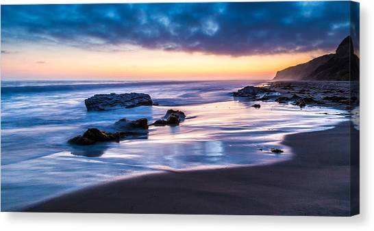 Sunset Shine Canvas Print