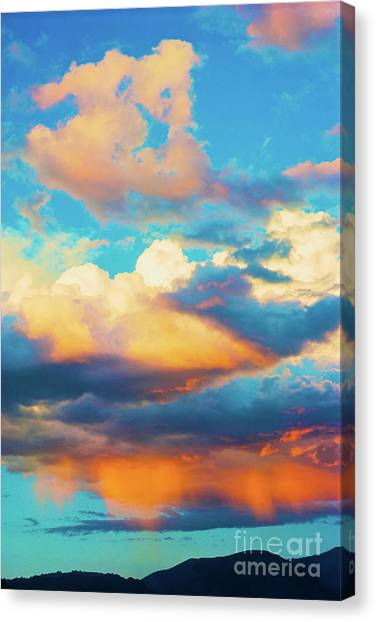 Sunset Showers Canvas Print