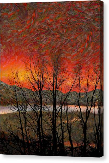 Sunset Soliloquy Canvas Print