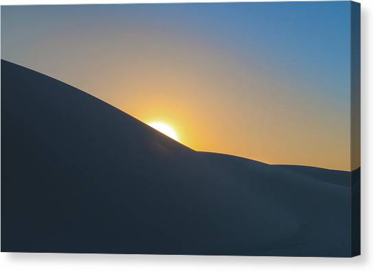 White Sand Canvas Print - Sunset - White Sands by Joseph Smith