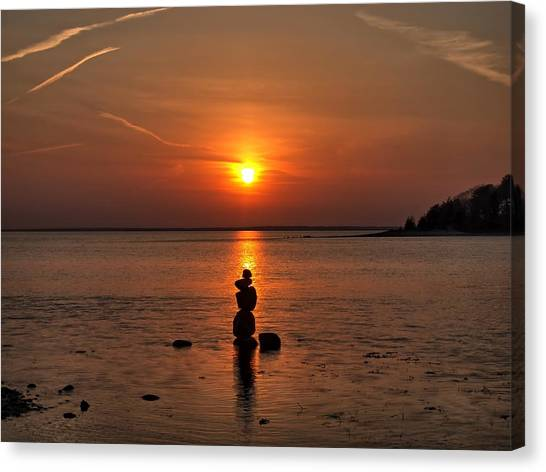 Sunset Zen Canvas Print