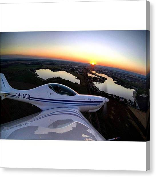 Lobster Canvas Print - Sunsets Are Beautiful.. And They Are by Norbert Chromek