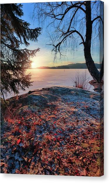 Sunsets Creates Magic Canvas Print