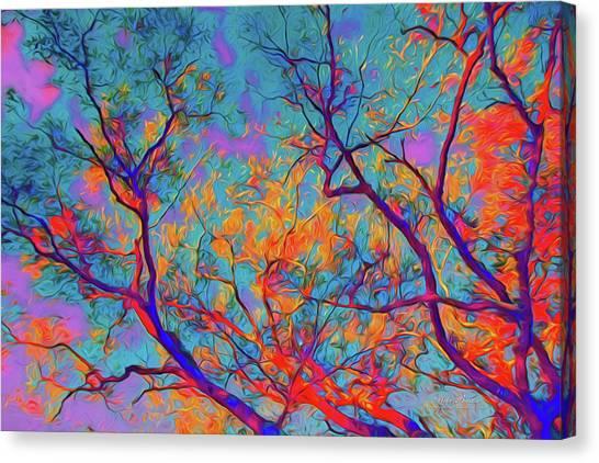 Sunsets Embrace Canvas Print