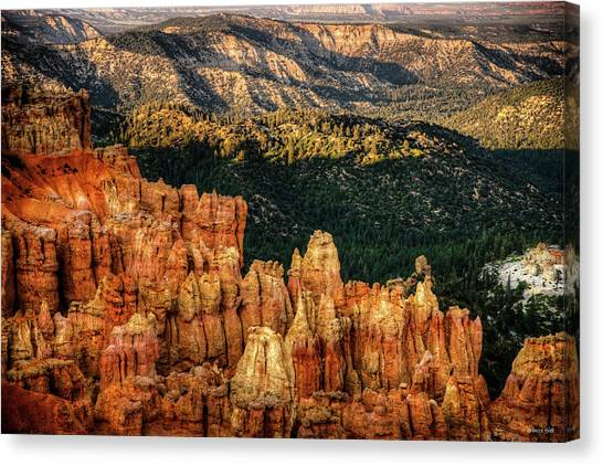 Sunsets In The Canyon Canvas Print
