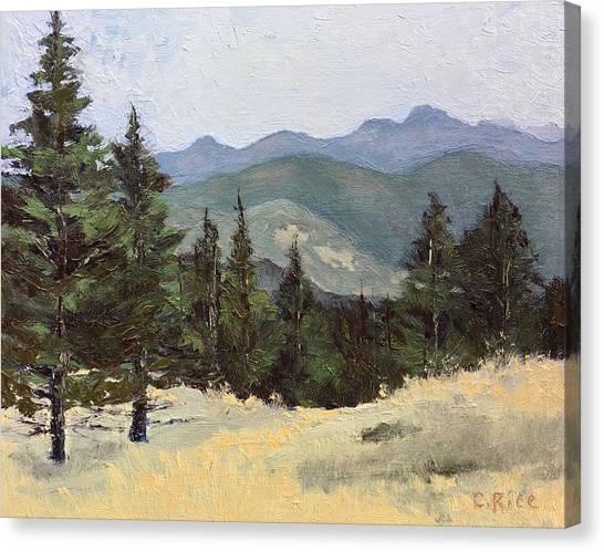 Sunshine Canyon Canvas Print