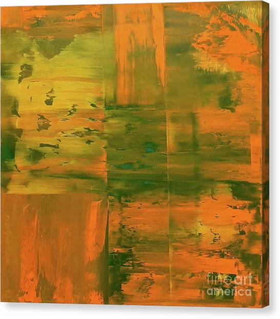 Gerhard Richter Canvas Print - Sunshine Day by J Loren Reedy