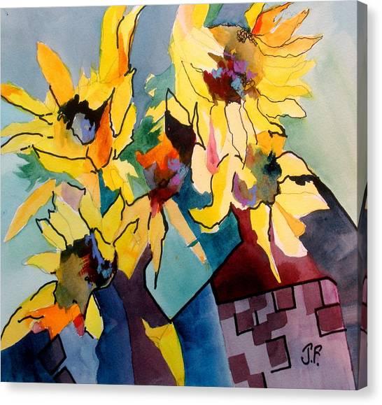 Canvas Print - Sunshine Hill by Jane Ferguson