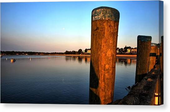 Sunshine On Onset Bay Canvas Print
