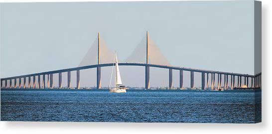Sunshine Skyway Bridge #2 Canvas Print