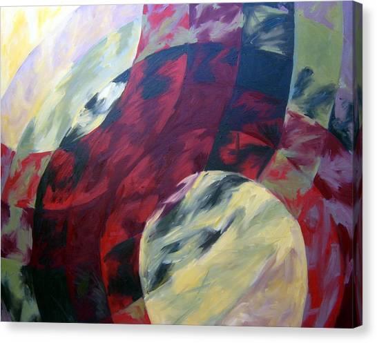 Sunshine Spectrum Canvas Print by Menucha Citron