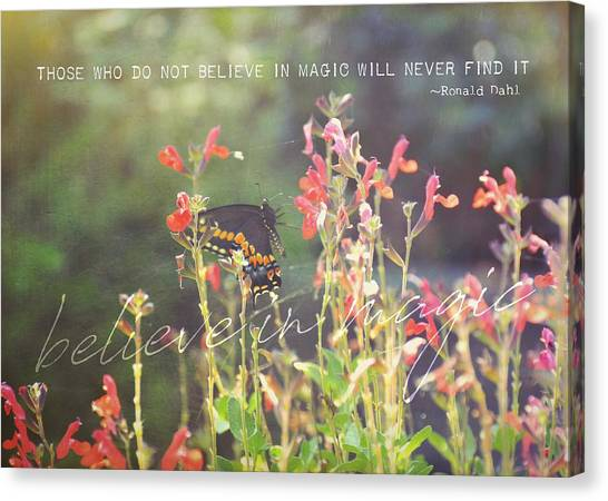 Sunstruck Quote Canvas Print by JAMART Photography