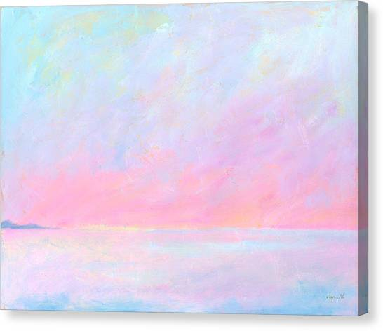Sunup Over Kailua Canvas Print