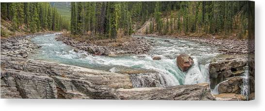 Sunwapta Panorama Canvas Print