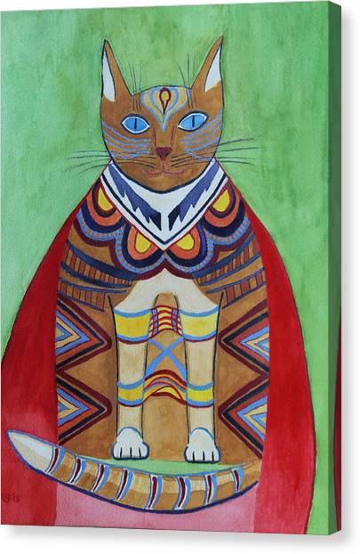 Super Cat Canvas Print