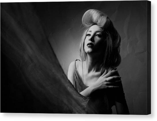Lady Canvas Print - Super Lady by Amin Hamidnezhad