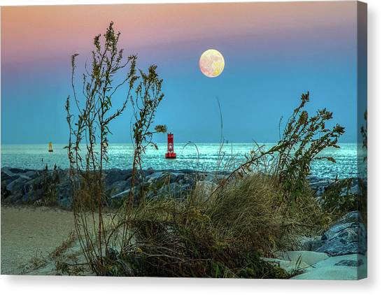 Super Moon 2016 Canvas Print