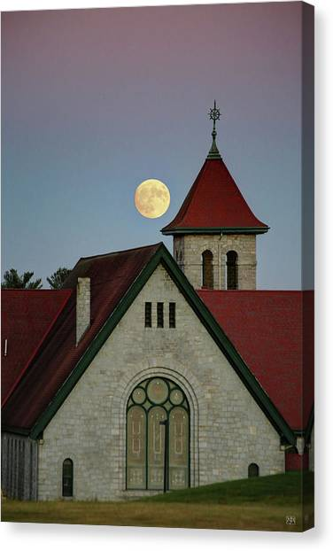 Super Moon Rising Canvas Print