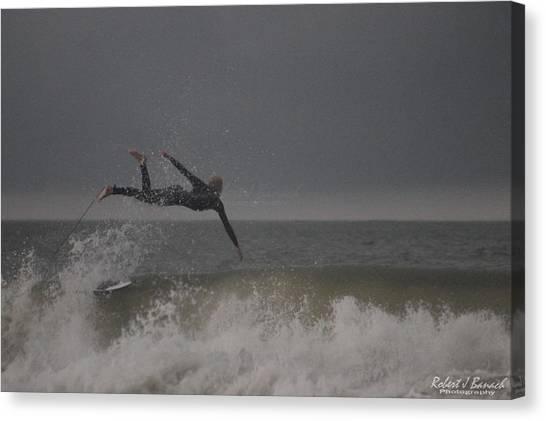 Super Surfing Canvas Print