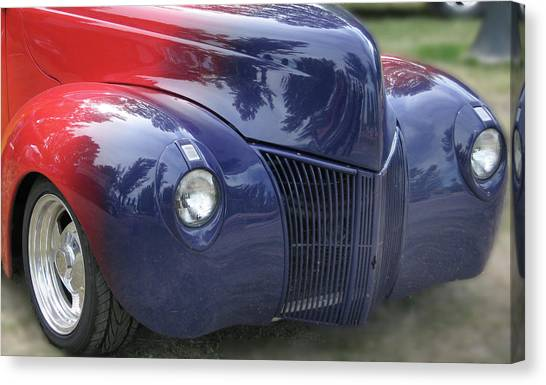 Superman's Car Canvas Print