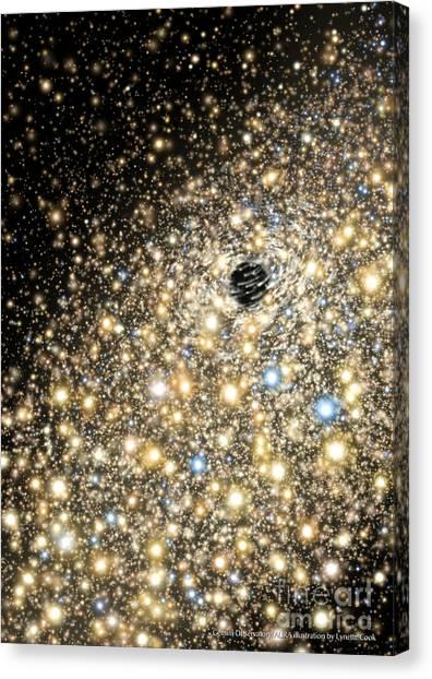 Supermassive Black Hole Canvas Print