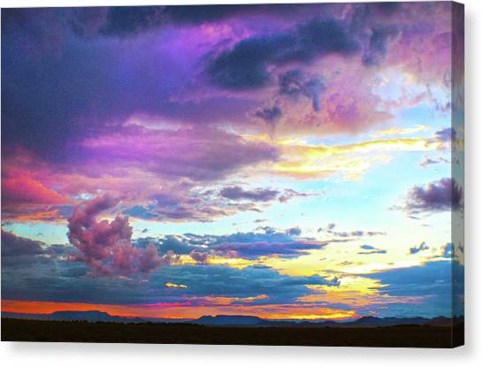 Supernatural Sky - Colorado Canvas Print