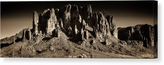 Superstition Mountain  Canvas Print