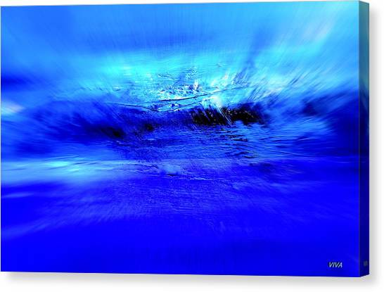 Superstorm At Sea Canvas Print