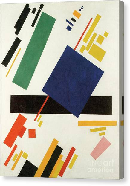 Suprematism Canvas Print - Suprematist Composition, 1916  by Kazimir Malevich