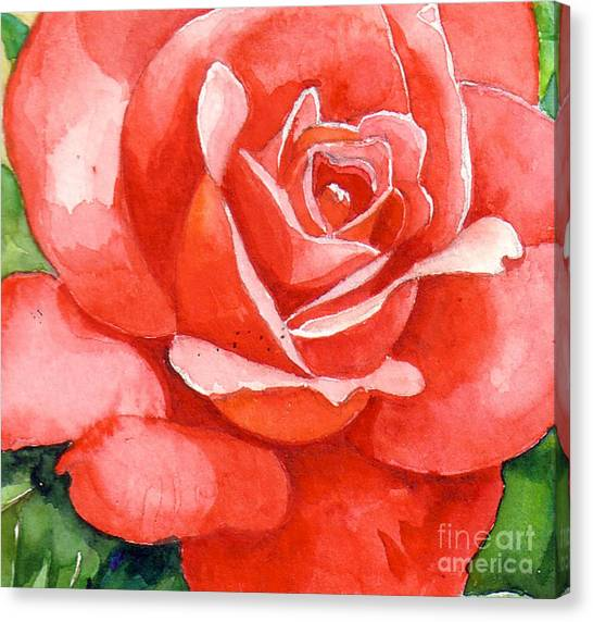 Supreme Beauty Canvas Print by Val Stokes