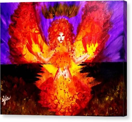 Supreme Seraphim  Canvas Print