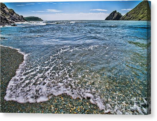 Surf #2959 Canvas Print