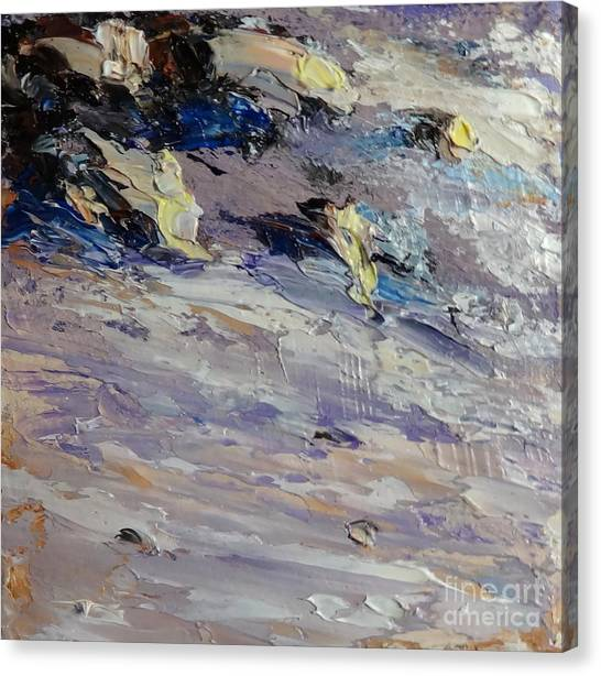 Surf And Sand Canvas Print