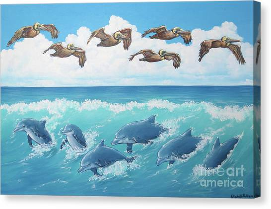 Surf And Soar Canvas Print