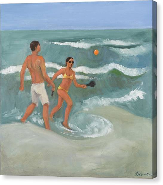 Surf Ball Canvas Print