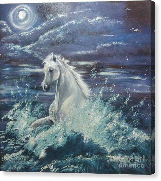 White Spirit Canvas Print