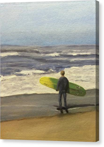 Surf Time Canvas Print